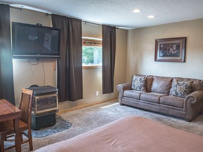 Photo for Moose Drool Apartment, 3 Queen Beds, 20 Minutes from Glacier National Park!