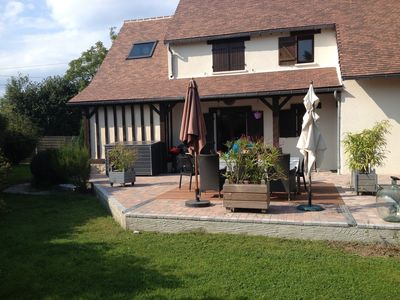 Photo for Family house in the Pays d'Auge and close to the sea