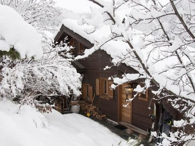 Photo for Cozy Chalet in Swiss Alps next to lifts and slopes