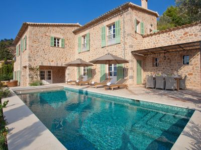 Photo for Elegant Mallorcan style villa located in the village of Deià