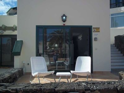 Photo for Apartment 379 m from the center of Costa Teguise with Internet, Pool, Garden, Balcony (970385)