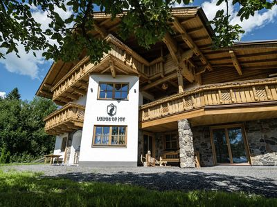 Photo for Exclusive 5 star Chalet almost on the piste with 2 saunas