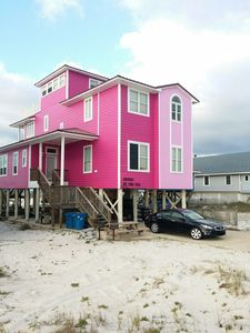 Photo for Family Friendly, Right on the Gulf, Sugar White Sand, Beautiful  Beach House