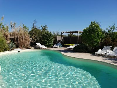 Photo for Mas pool and nature, quiet a few miles from Carcassonne