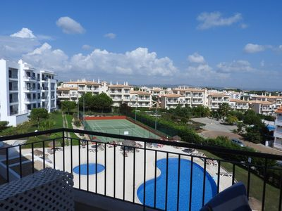 Photo for New Apartment Overlooking The Pool And Tennis Court With Sea View
