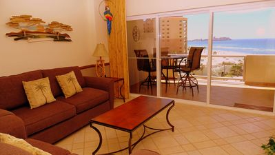 Photo for Spectacular 1 Bedroom Condo on Sandy Beach at Las Palmas  Resort G-502