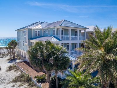 'Footprints By The Sea' 5,200+ sq/ft Luxury Gulf Front 5BR/5 1/2 Bath