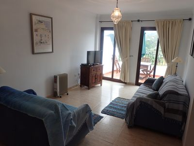 Photo for Modern Bright Apartment With stunning Sea And Mountain Views, Wi Fi & Air Con