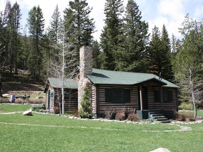 Photo for Cozy Log Cabin In Beautiful Cottonwood Canyon, Just Outside of Bozeman