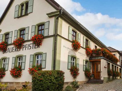 Photo for Large double room (with balcony / terrace) - Brauerei-Gasthof Pfister