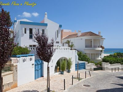 Photo for The Blue Villa in the Algarve: 50 m from the beach and Ocean, Praia da Rocha