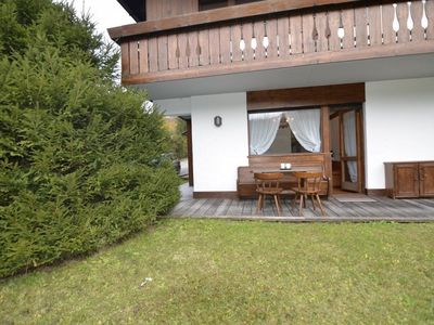 Photo for Bright apartment near the Dolomites cycle path.