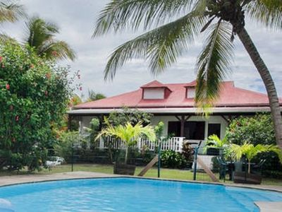 Photo for Charming 3 bedroom air-conditioned accommodation with private pool