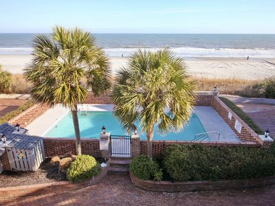 Oceanfront TH with pool, only steps away from the beach!