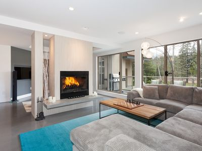 Photo for Inviting Townhome Close to Blackcomb with Private Hot Tub + Fireplace