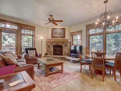 Photo for Modern Luxury Ski in Ski out 2 Bedroom Living in Lone Eagle!