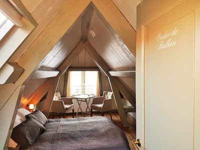 Photo for Cozy B & B room under the sloping roof at the back of the attic floor