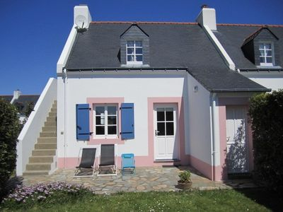 Photo for House 4/5 people quiet. classified 3 *** garden south / west near Palais Belle-Ile