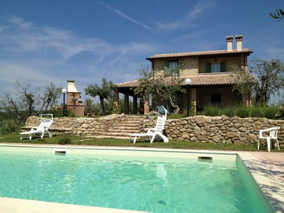 THE LOVELY STONE VILLA  WITH OLIVE GROVE AND POOL