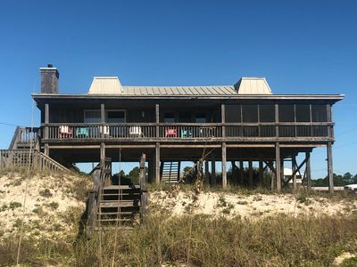 Photo for Affordable beach front living!  PET friendly with screened porch!