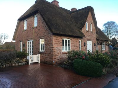 Photo for A thatched semi-detached house with parking space for up to 2 cars.