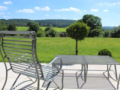 Photo for Tranquil Luxury Barn, panoramic views, newly refurbished - within organic farm