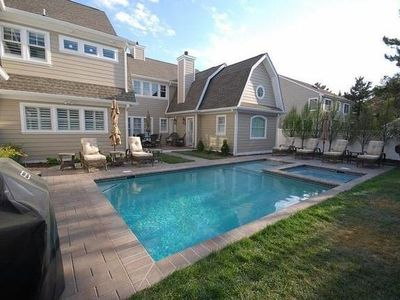 Photo for 2014-Magnificent Beach Block Home Luxurious 9 BR 9.5 BA W/ Pool