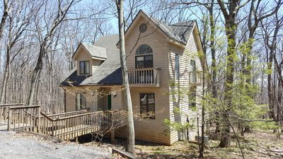 Photo for BEAUTIFUL WINTERGREEN HOUSE! SLEEPS  23 GUESTS, AROUND THE CORNER FROM THE POOL.