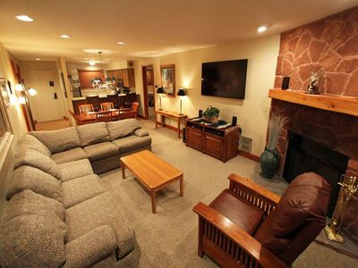 Photo for Snow Flower Condo #7, 3 bedroom 2 bath, sleeps 8, SKI-IN/SKI-OUT to Park City Mountain Resort