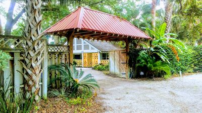 Photo for Sanctuary for relaxation, nestled under oaks, in the heart of the beach district