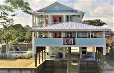 Photo for WATERFRONT-2 BOATS SLIPS--2 SEPARATE KITCHENS--PRIVATE POOL & ELEVATOR !