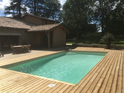 Photo for Beautiful country house of 400m² on a park of nearly 1 ha with swimming pool