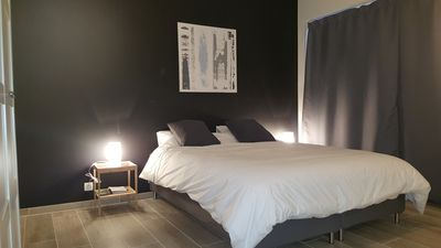 Photo for SUPERB NEW STUDIO close to the Meuse, in the district of Jambes.