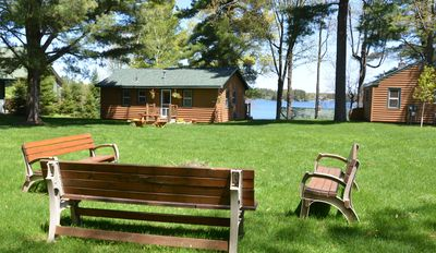 Photo for North Woods Cabin on Lake Minocqua: A perfect mix of getaway and access to fun!