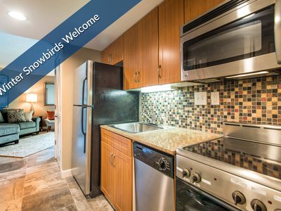 Photo for $99 Deposit Special! In-suite Washer/Dryer. Ask about Winter Snowbird Rates!