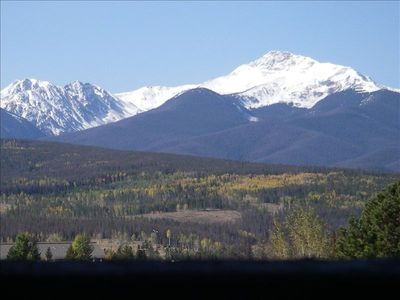 Byer's Peak from Balcony in the fall