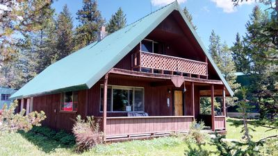 Photo for MOOSE HOLLOW CABIN⭐️SATELLITE TV FIRE PIT OUTDOOR BBQ 3BEDROOM 2 BATH