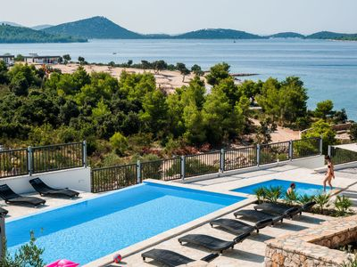 Photo for 2 bedroom Villa, sleeps 5 in Drage with Pool, Air Con and WiFi