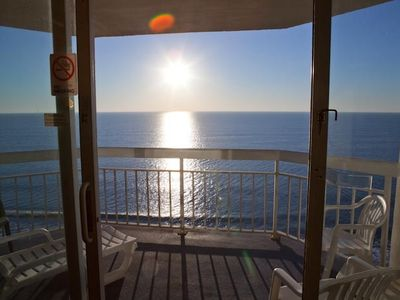 Photo for Upscale Direct Ocean Front Condo 1BR/2BA Vacation Rental Property