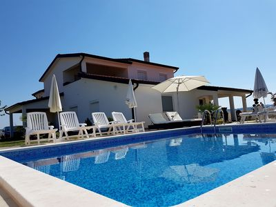 Photo for Holiday apartment with pool and terrace