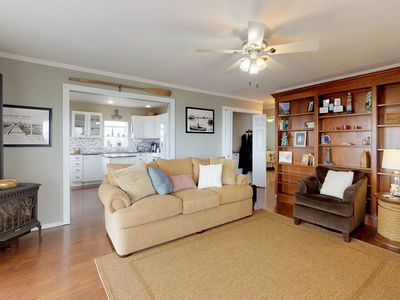 Photo for NEW LISTING! Dog-friendly and comfortable bayfront condo with incredible views!