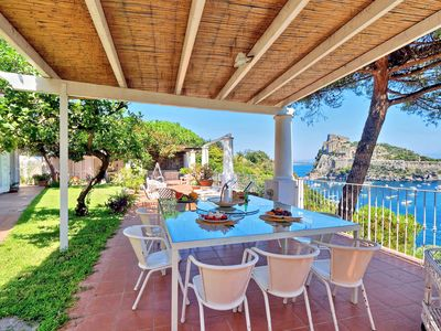 Photo for Ischia, wonderful apartment for 8 people with terrace overlooking the sea