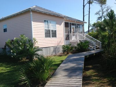 Photo for Beautiful Cottage located between the Bay and the Gulf!