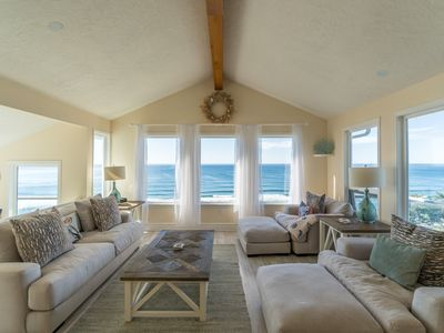 Photo for Amazing ocean front home located in Neskowin with great view of the Pacific