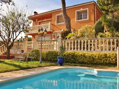 Photo for family villa to enjoy nature and beach