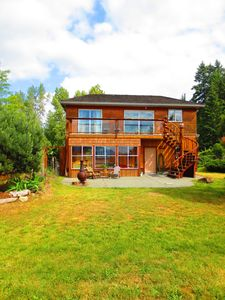 Photo for Oyster Bay Beach House is located on BC POINTE at the end Ladysmith Harbour