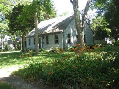 Quiet,  shady, 1/3 acre yard on loop street with low traffic