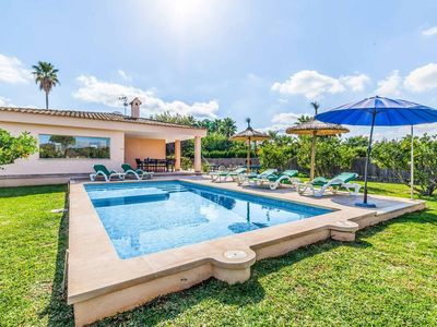 Photo for Can Segnou - Well-furnished 3 bedroom villa - Great pool area - Perfect for families