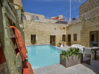 Photo for Highly Renovated Ta Rozamari Character House With Pool And Hot Tub