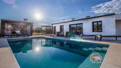 Photo for Villa Ses Nines, pool, nature and tranquility.